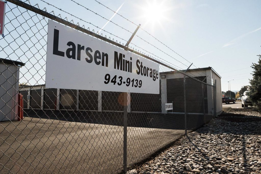 Larsen Transver records storage