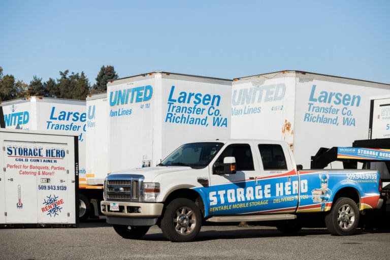 mobile storage unit pendleton oregon larsen transfer