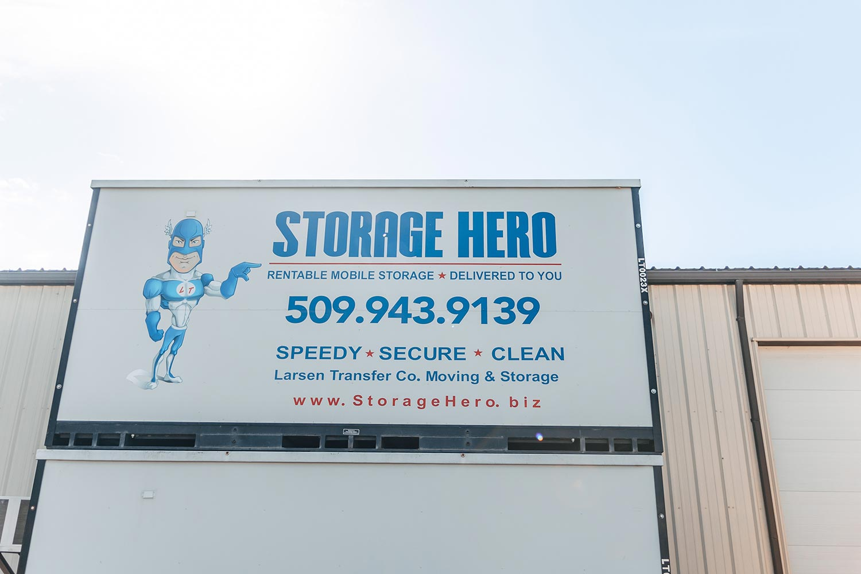 pasco mobile storage unit larsen transfer