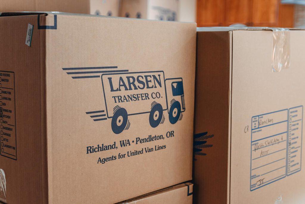 larsen transfer moving