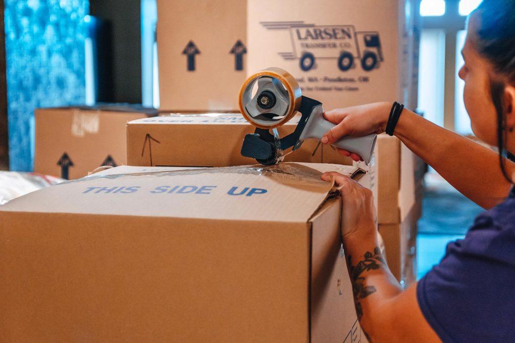 larsen transfer packing supplies