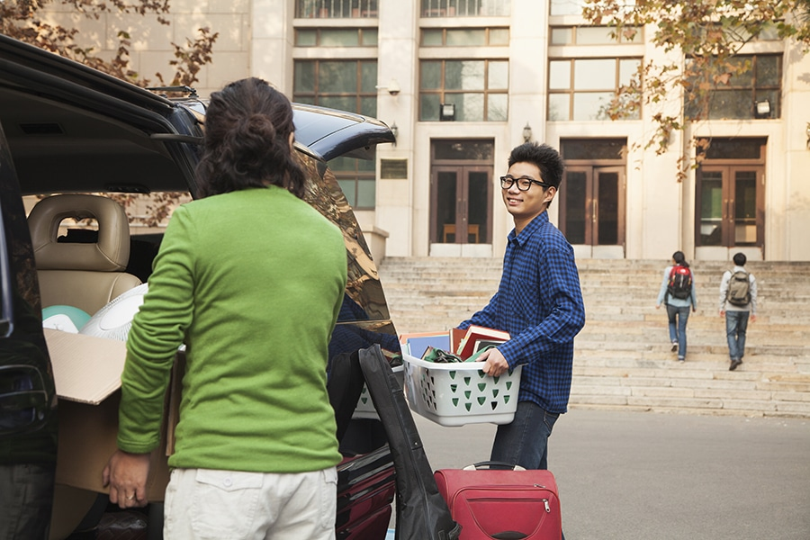 grad moving tips for college